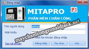 Hướng dẫn cài đặt và sử dụng phần mềm Mita Pro V1- Phần 1