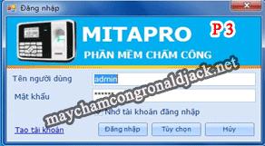 Hướng dẫn cài đặt và sử dụng phần mềm Mita Pro V1- Phần 3