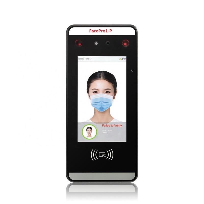 Máy chấm công khuôn mặt FacePro1-P quét khuôn mặt khi đeo khẩu trang