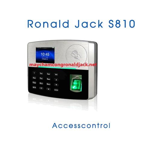 Máy chấm công kiểm soát cửa ra vào Ronald Jack S810