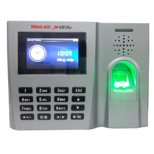 Máy chấm công vân tay, thẻ cảm ứng RONALD JACK X628 PLUS