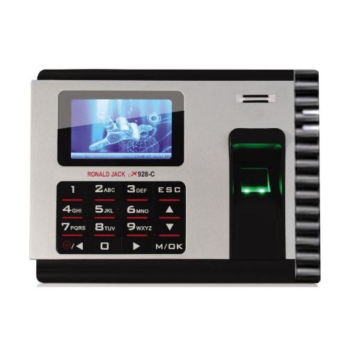Máy chấm công vân tay, thẻ cảm ứng RONALD JACK X928-C