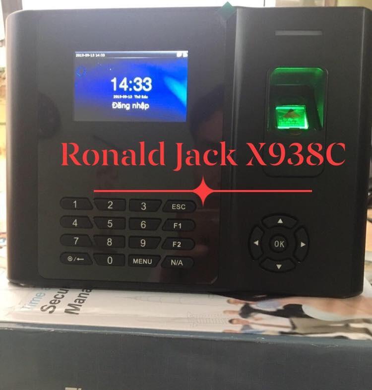 Máy chấm công vân tay, thẻ cảm ứng RONALD JACK X938-C