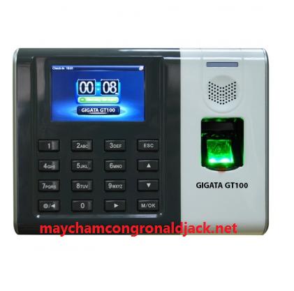 Máy chấm công vân tay và thẻ GIGATA GT100