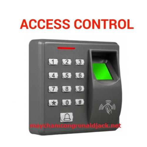 Máy chấm vân tay X6 kiểm soát ra vào cửa văn phòng