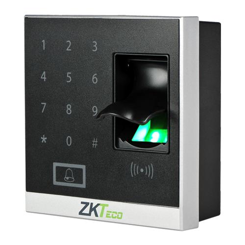 Máy kiểm soát cửa ra vào bằng vân tay, thẻ RIFD Zkteco X8S