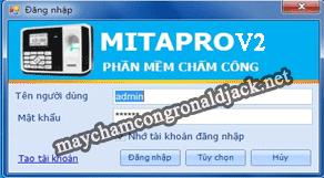 Mita Pro - Phần mềm chuyên nghiệp cho máy chấm công