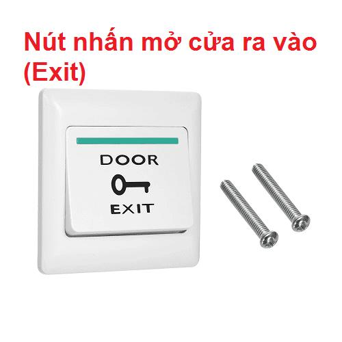 Nút nhấn mở cửa ( nút exit nhựa )