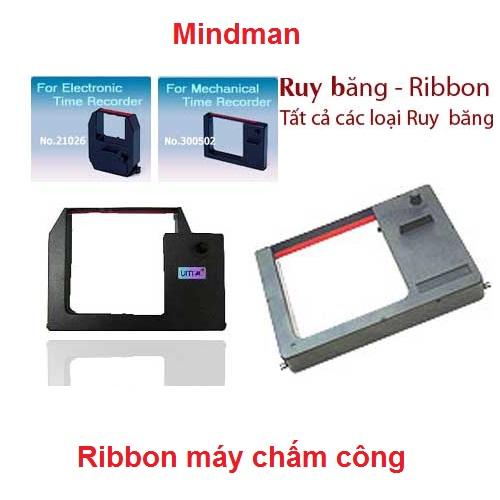 Ruy băng Ribbon máy chấm công Mindman